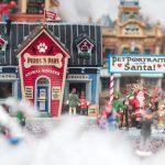 Een kerstdorp bouw je met een thema